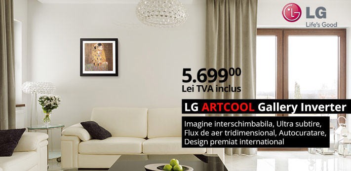Aer conditionat tablou LG ARTCOOL Gallery